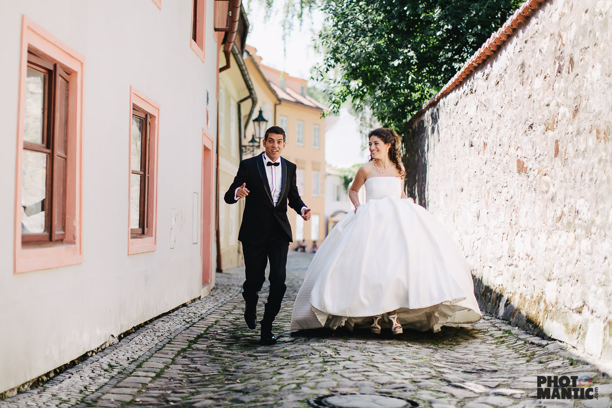 luxury wedding in Prague