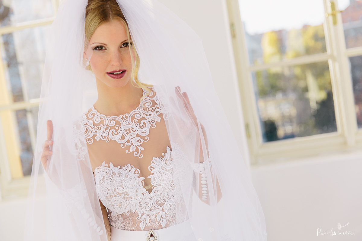 luxury wedding dress Prague