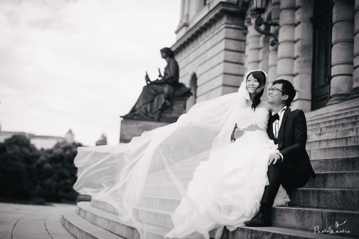 prewedding photos in Prague