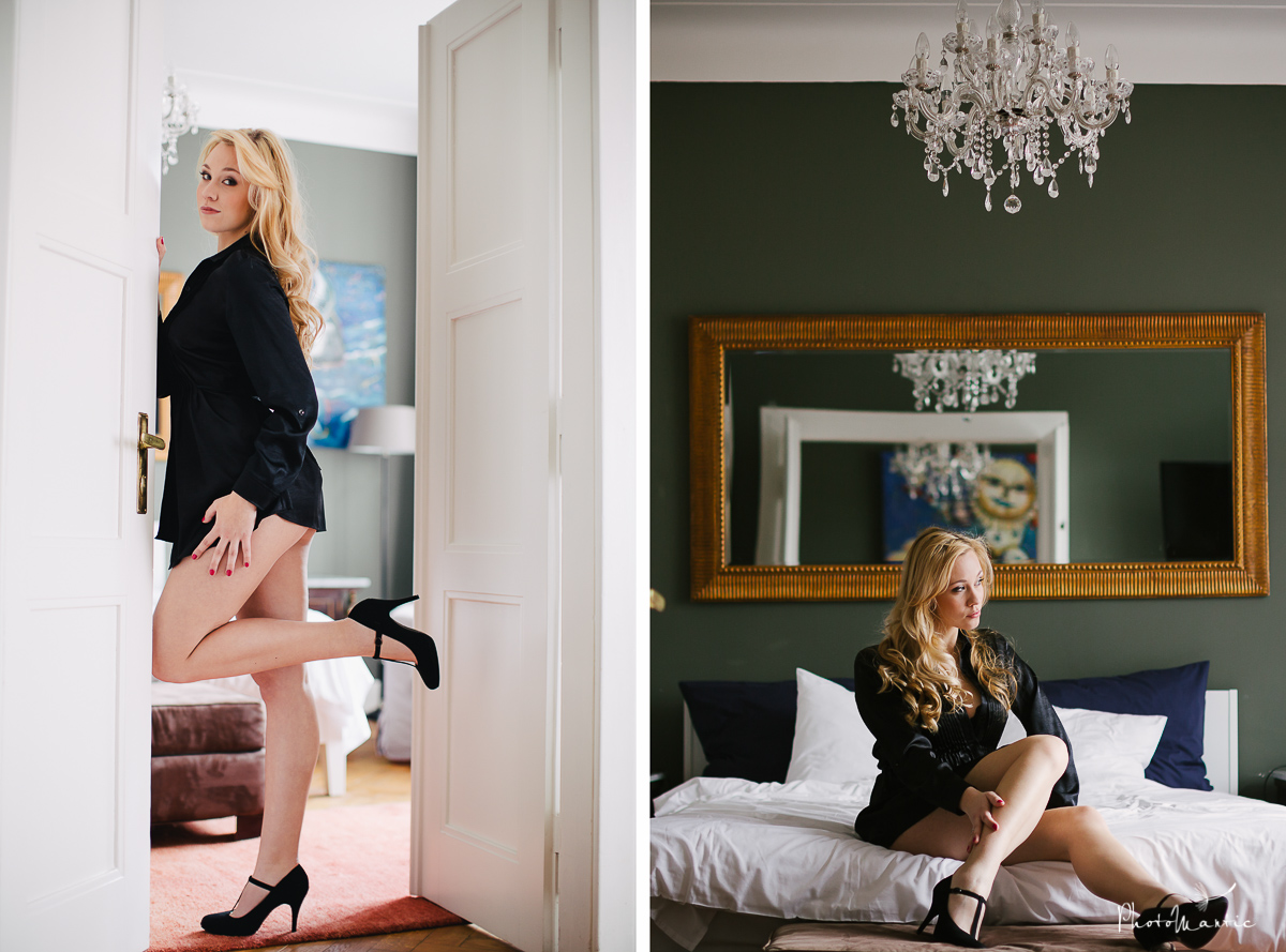 boudoir photos prague