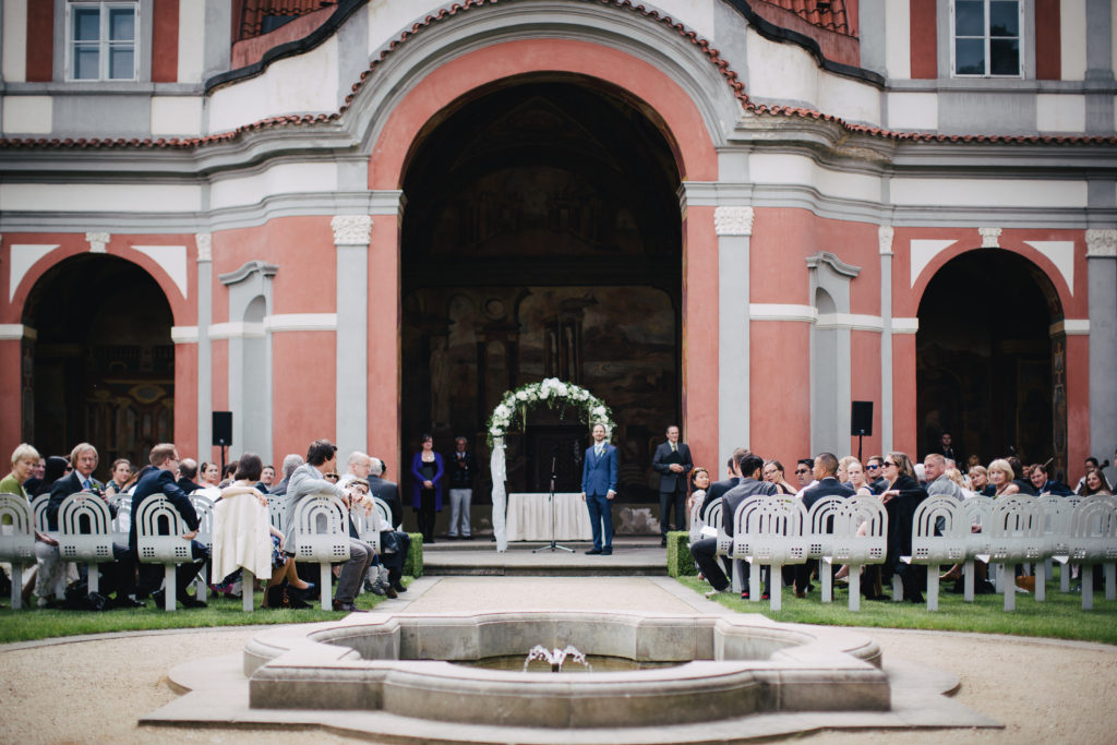 Ledeburska garden wedding