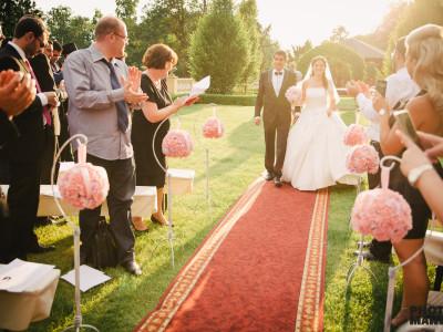 svatba zámek zbiroh