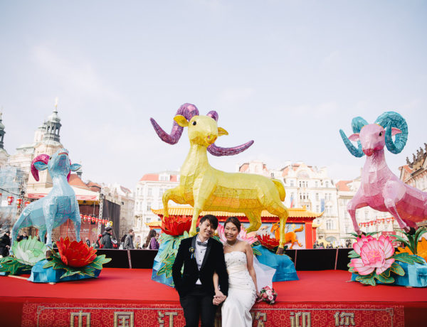 Chinese wedding in Prague