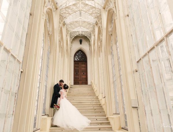 Svatba zámek Hluboká
